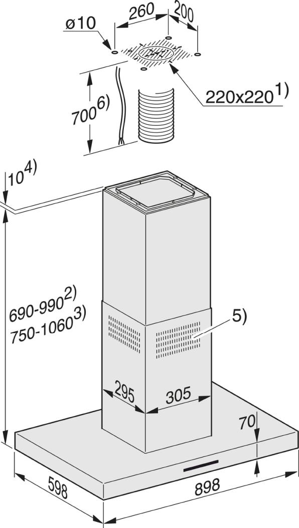 Rozmerové nákresy-s úsporným LED osvetlením a tlačidlami pre komfortné ovládanie.-20000108065