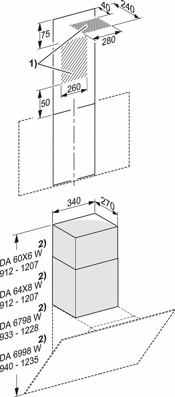 Rozmerové nákresy-pre alternatívne odvádzanie vzduchu nahor-20000112889