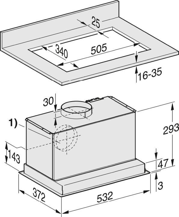 Rozmerové nákresy-s úsporným LED osvetlením a tlačidlami pre komfortné ovládanie.-20000128433
