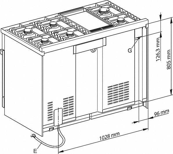 Rozmerové nákresy-- Dual Fuelvšestranný prístroj pre najvyššie nároky.-20000133083