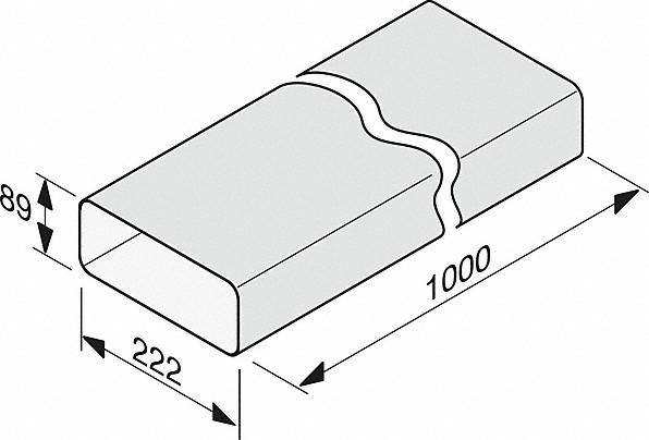 Rozmerové nákresy-na efektívne aindividuálne vedenie vzduchu.-20000139355