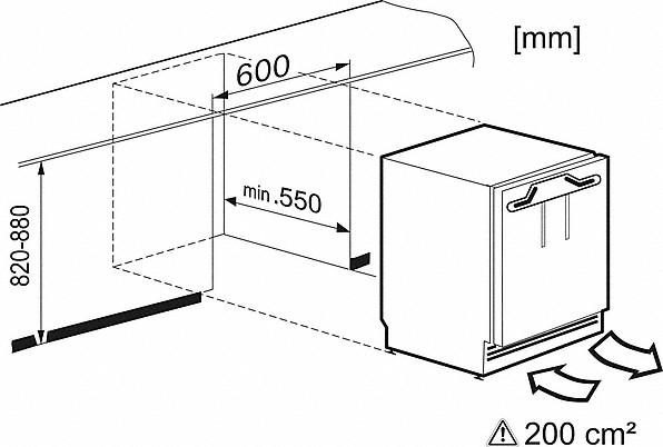 Rozmerové nákresy-s funkciou ComfortFrost pre pohodlné mrazenie v kompaktnom formáte.-20000141229