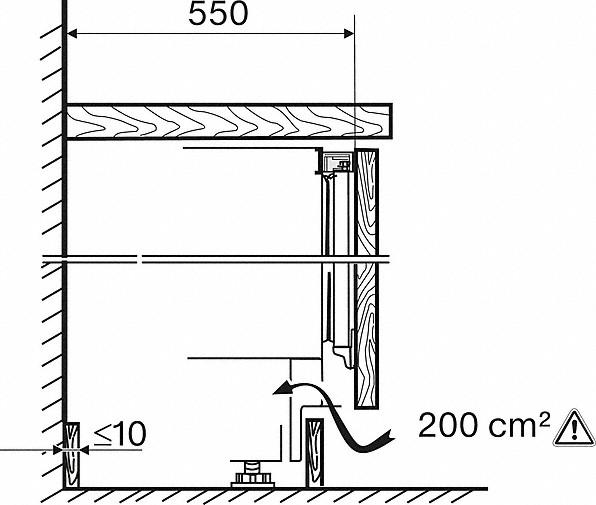 Rozmerové nákresy-s funkciou ComfortFrost pre pohodlné mrazenie v kompaktnom formáte.-20000141230