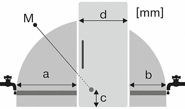Rozmerové nákresy-s NoFrost a IceMaker pre väčšie pohodlie a vždy čerstvé kocky ľadu.-20000141290