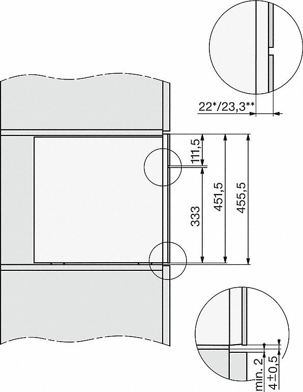 Rozmerové nákresy-s patentovaným snímačom CupSensor pre perfektný pôžitok z kávy.-20000155279